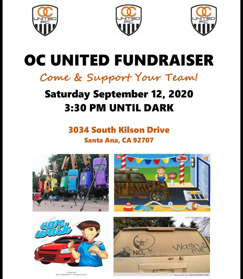 OC United Fundraiser September 12, 2020
