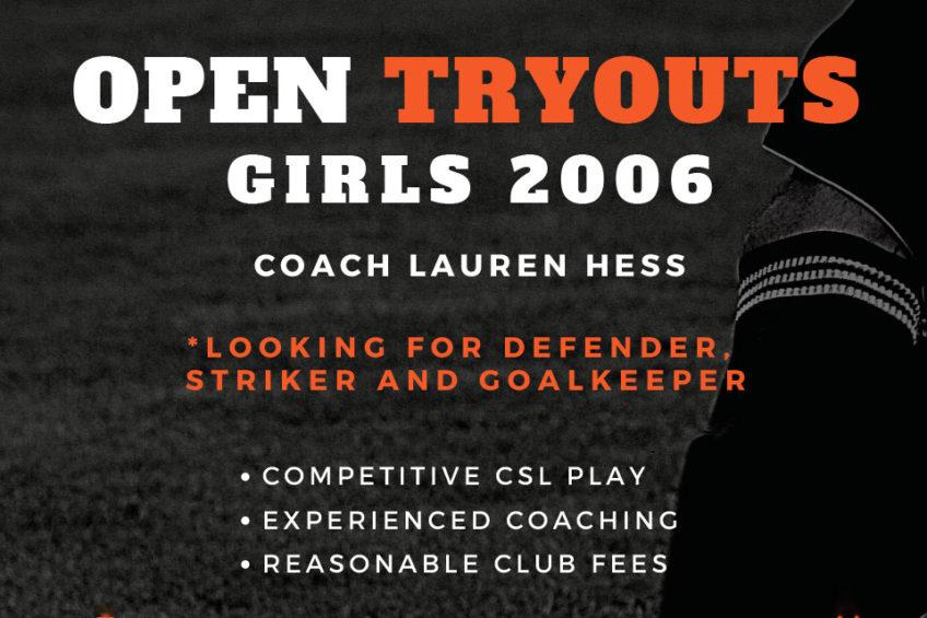 Top Level Aggressive Striker, Defender & Starting Goal Keeper – G06 Orange County Soccer Team Tryouts