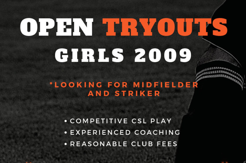 G09 Orange County Youth Soccer Team Tryouts – Adding Mid-Fielders & More
