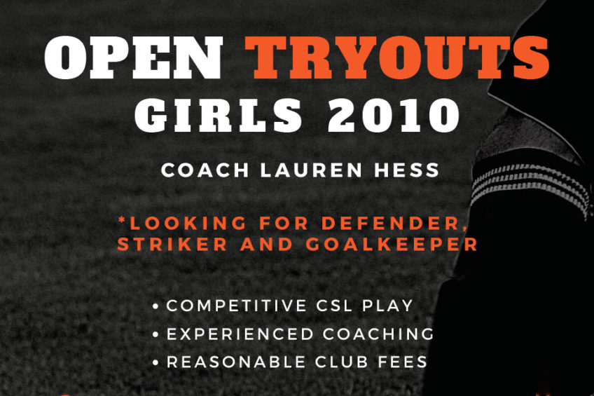Aggressive Striker, Defender and Starting Goal Keeper – G10 Orange County Soccer Team Tryouts
